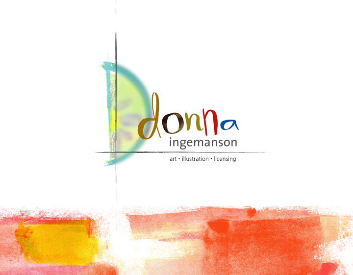 Donna Ingemanson Illustration Logo