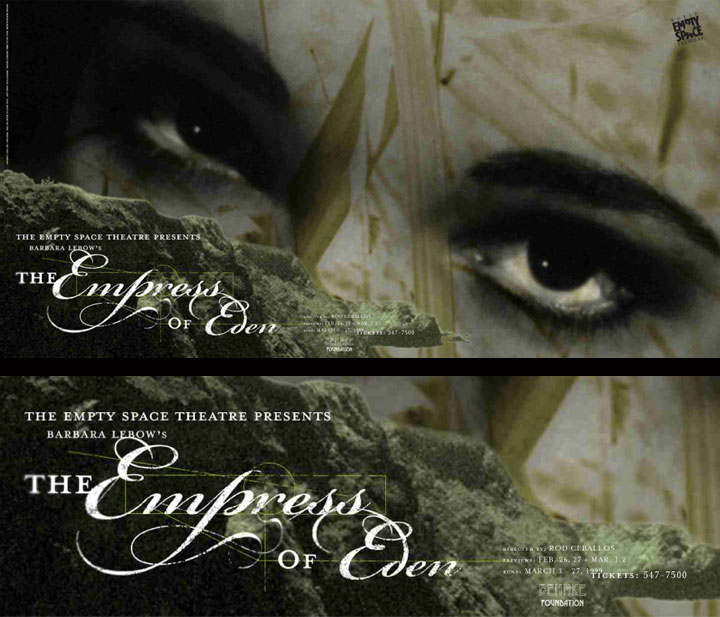 Empress of Eden Theatre Poster