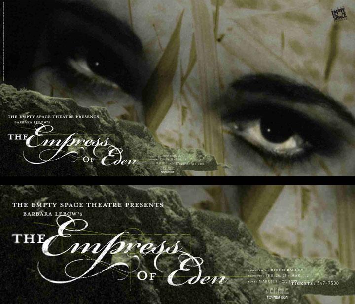 Empress of Eden Theatre Poster