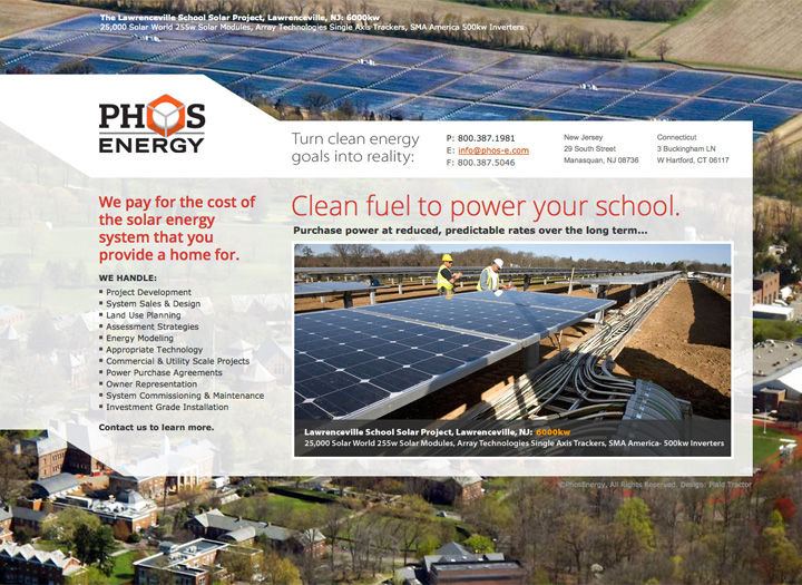 Phos Energy Website