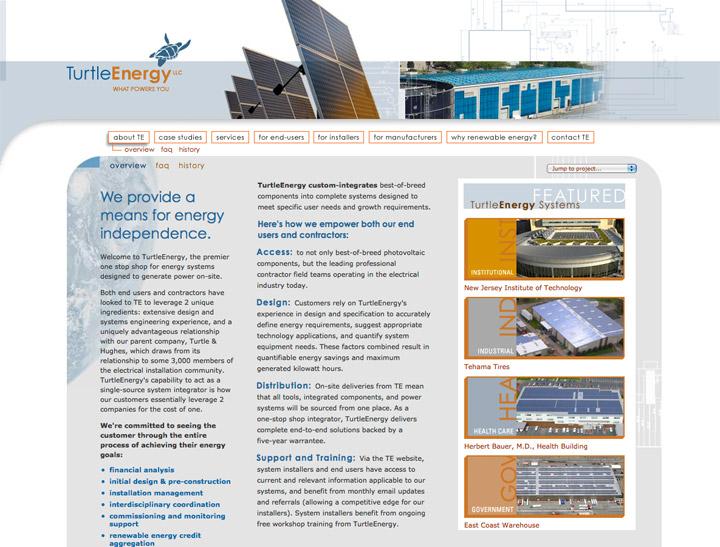Turtle Energy Website