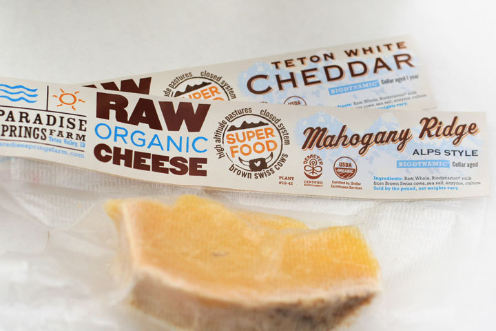 Raw Milk & Cheese Branding, Paradise Springs Farm