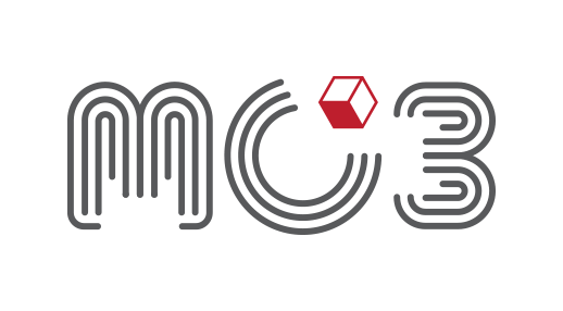 MC3 Logo (Mobile Cubesat Command and Control Network)