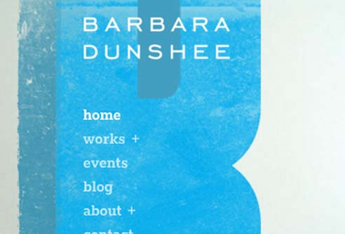 Sculpture Website Design: Barbara Dunshee