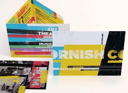 Cornish College of the Arts Print Marketing Tri-Fold